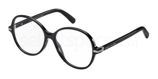 Black round shape glasses Marc Jacobs