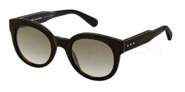 5YA  (HA) MJ 588/S Sunglasses, Marc Jacobs