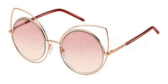 pink marc jacobs cat eye framed