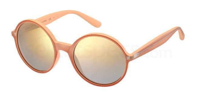beyonce pink sunglasses round