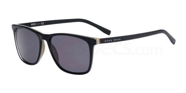 QHI  (Y1) BOSS 0760/S Sunglasses, BOSS Hugo Boss