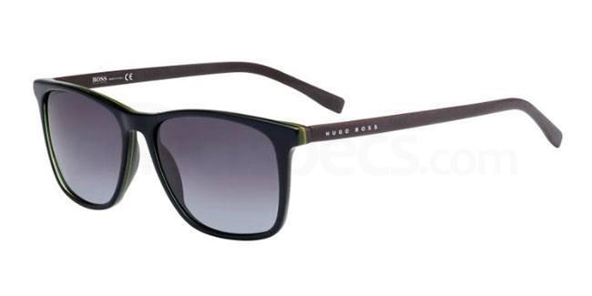 QHU  (HD) BOSS 0760/S Sunglasses, BOSS Hugo Boss