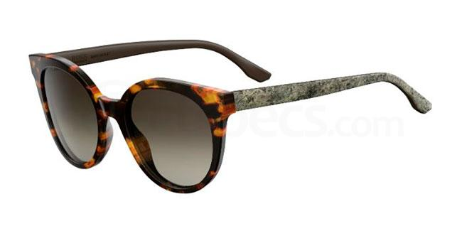 1GS  (HA) BOSS 0890/S Sunglasses, BOSS Hugo Boss