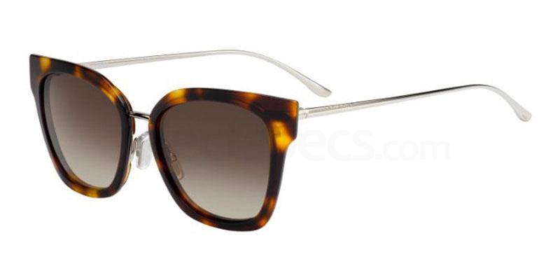 086 (HA) BOSS 0943/S Sunglasses, BOSS Hugo Boss