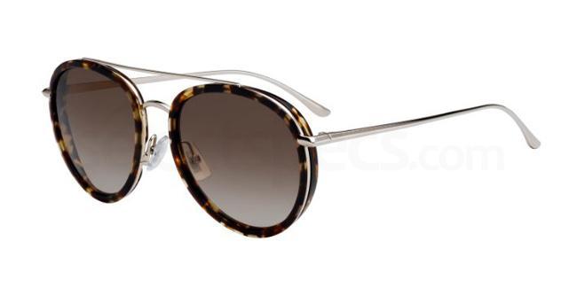 086  (HA) BOSS 0977/S Sunglasses, BOSS Hugo Boss