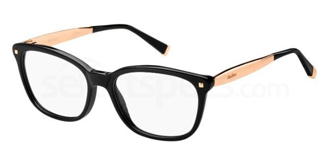 06K MM 1278 Glasses, MaxMara Occhiali