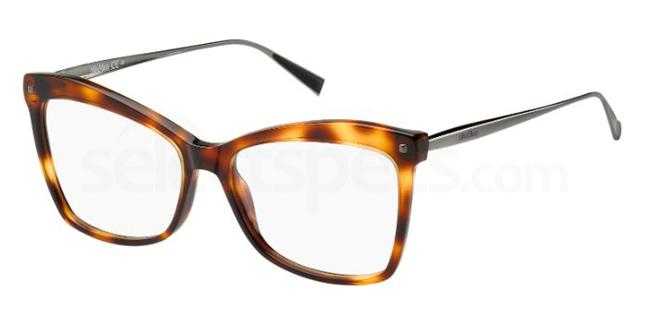 OQB MM 1288 Glasses, MaxMara Occhiali