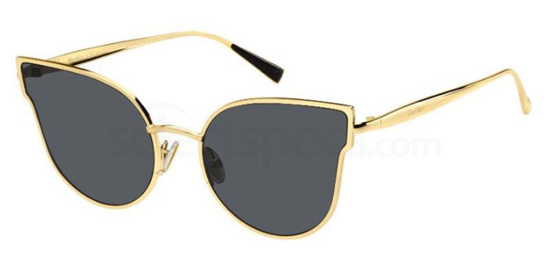 gold metal sunglasses trend 2019 cateye