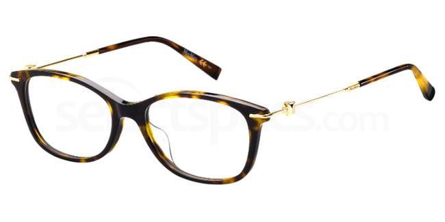 086 MM 1364/F Glasses, MaxMara Occhiali