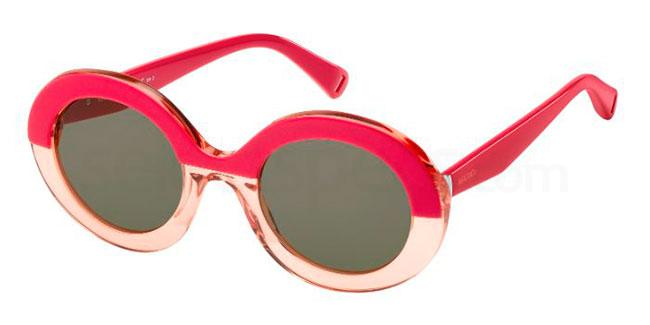 pink oval sunglasses Max&Co