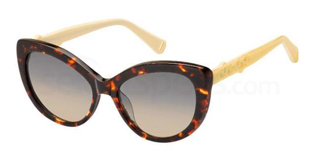 086  (PR) 335/S Sunglasses, MAX&Co.