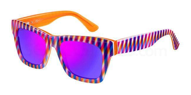 sunglasses optical illusion pop art trend