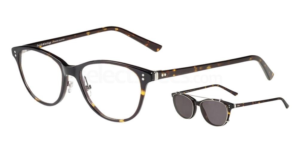 5432 4728 - 1 with nosepads / With Clip-On Glasses, ProDesign Denmark