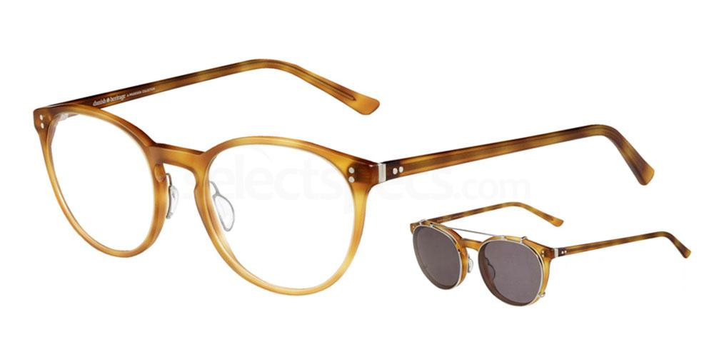 5024 4730 - 1 with nosepads / With Clip-On Glasses, ProDesign Denmark