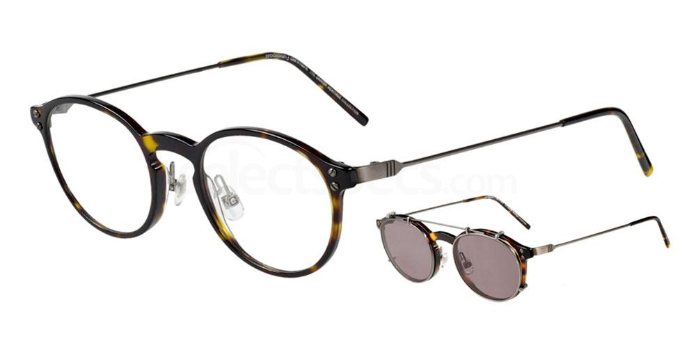 5524 4745 - 1 with nosepads / With Clip-On Glasses, ProDesign Denmark