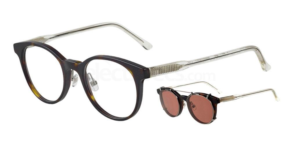 5531 4751 - 1 with nosepads / With Clip-On Glasses, ProDesign Denmark
