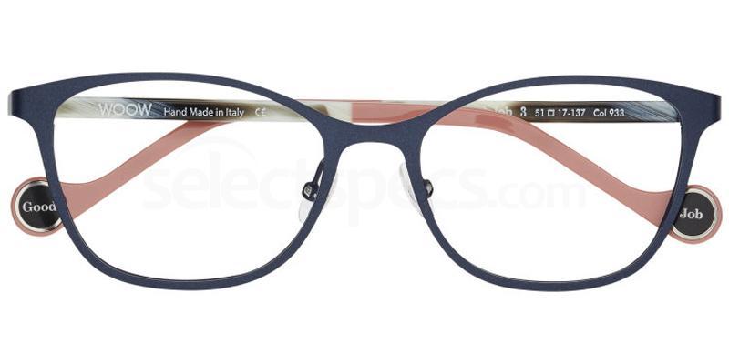 933 GOOD JOB 3 Glasses, Woow