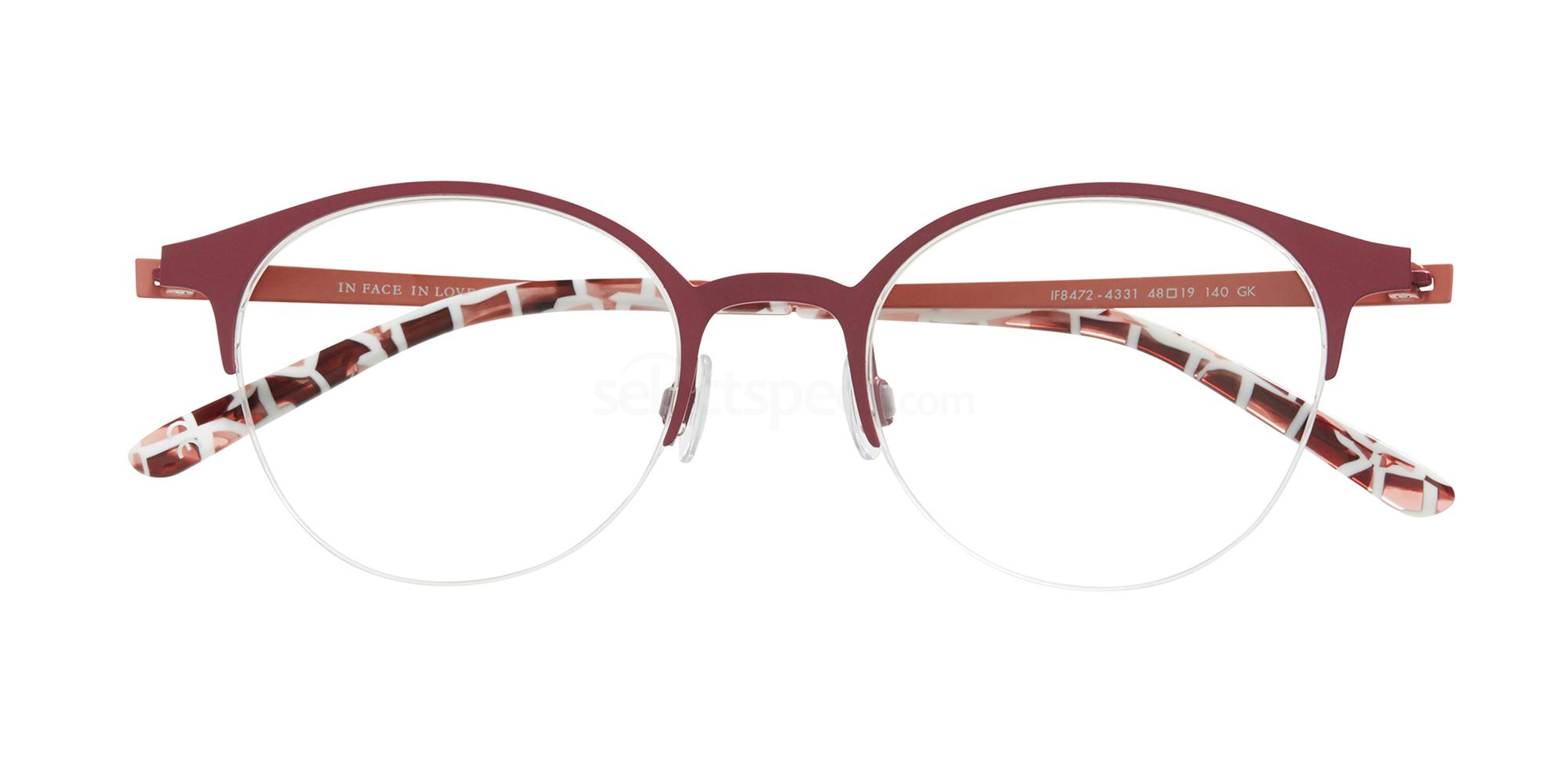4331 IF8472 Glasses, Inface in Love