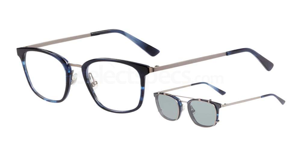 1122 4756 - 1 with nosepads / With Clip-On Glasses, ProDesign Denmark