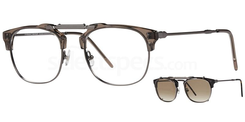 6425 4760 - 1 with nosepads / With Clip-On Glasses, ProDesign Denmark