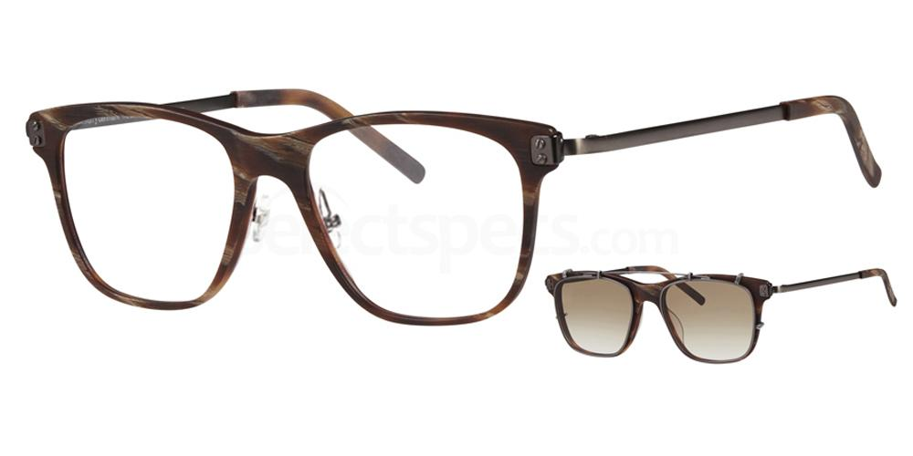 5626 4763 - 1 with nosepads / With Clip-On Glasses, ProDesign Denmark