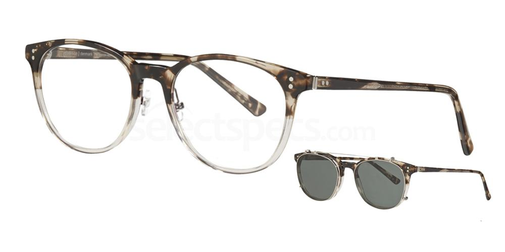 5444 4765 - 1 with nosepads / With Clip-On Glasses, ProDesign Denmark