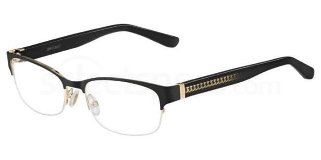 16K JC128 Glasses, JIMMY CHOO