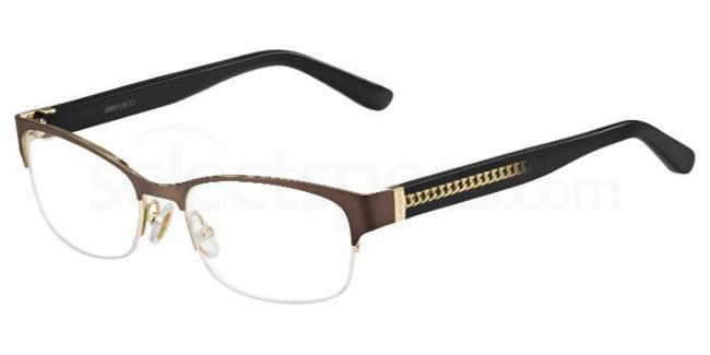 16S JC128 Glasses, JIMMY CHOO