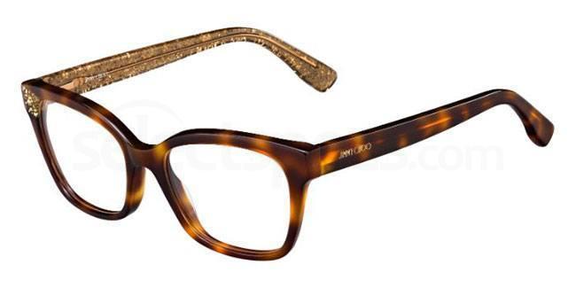 Q9W JC150 Glasses, JIMMY CHOO