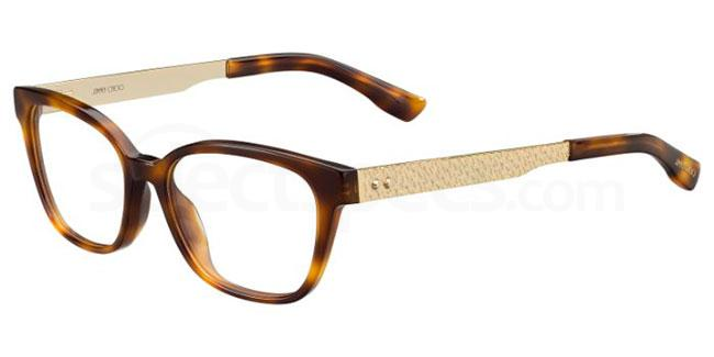 BHZ JC160 Glasses, JIMMY CHOO
