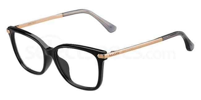 N08 JC174 Glasses, JIMMY CHOO