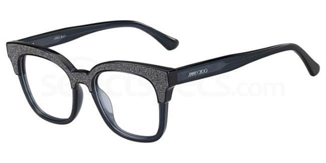 18R JC176 Glasses, JIMMY CHOO