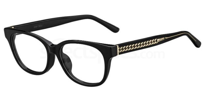 807 JC198/F Glasses, JIMMY CHOO