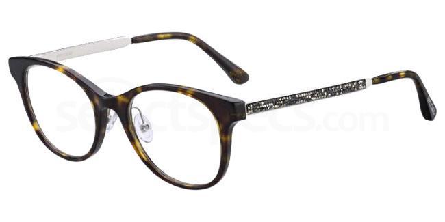 086 JC209/F Glasses, JIMMY CHOO