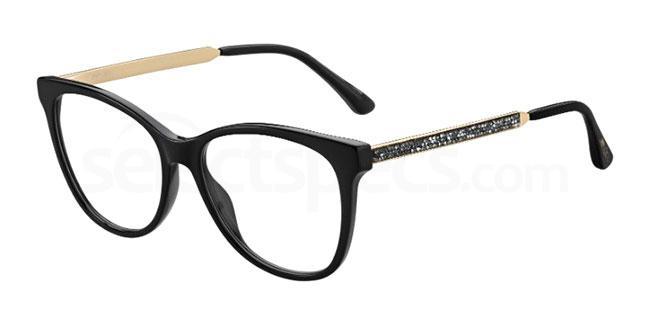 807 JC199 Glasses, JIMMY CHOO
