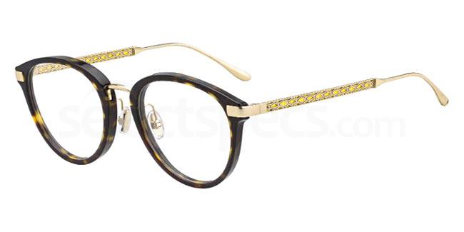 09Q JC220/F Glasses, JIMMY CHOO