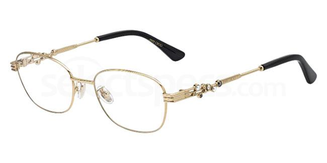 J5G JC222/F Glasses, JIMMY CHOO