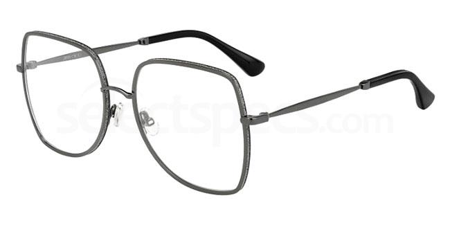 807 JC228 Glasses, JIMMY CHOO