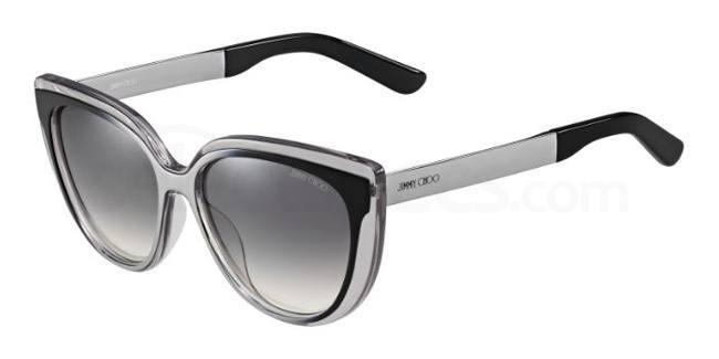 1M0  (IC) CINDY/S Sunglasses, JIMMY CHOO