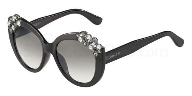 1VD  (IC) MEGAN/S Sunglasses, JIMMY CHOO