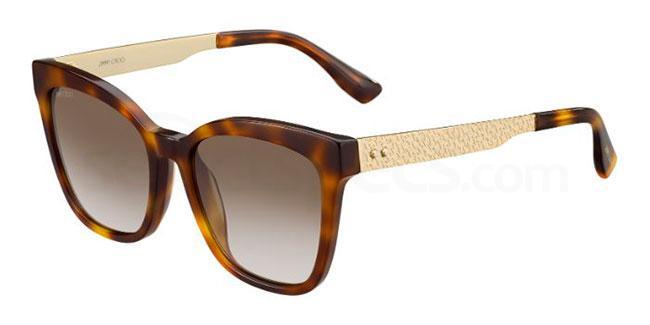 BHZ  (J6) JUNIA/S Sunglasses, JIMMY CHOO