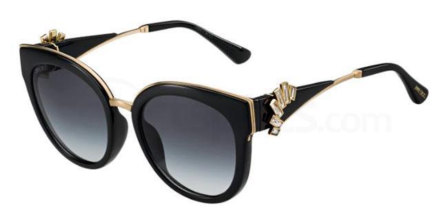 1A5  (9O) JADE/S Sunglasses, JIMMY CHOO