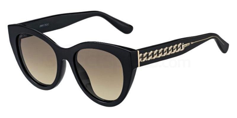807 (HA) CHANA/S Sunglasses, JIMMY CHOO