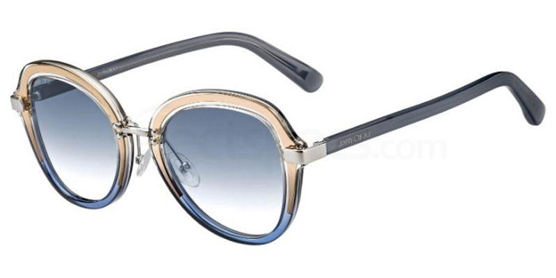 2F7 (08) DREE/S Sunglasses, JIMMY CHOO