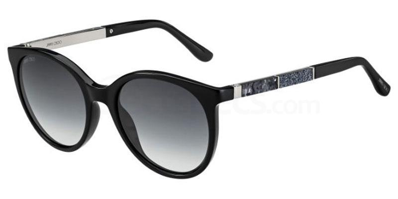 807 (9O) ERIE/S Sunglasses, JIMMY CHOO