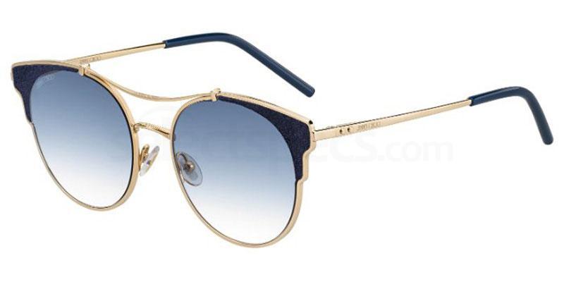 Jimmy Choo cat-eye sunglasses Alissa Violet