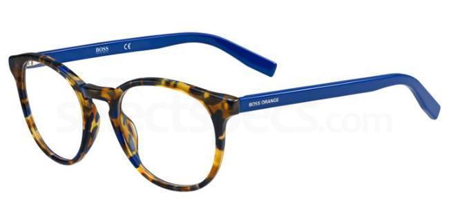 7H9 BO 0201 Glasses, Boss Orange