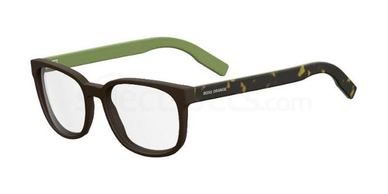 2PE BO 0215 Glasses, Boss Orange