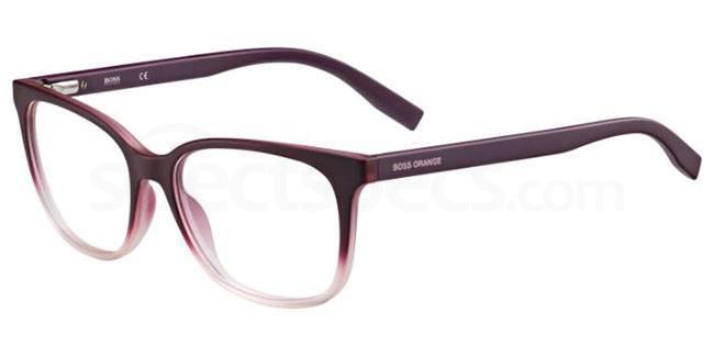 Q6U BO 0252 Glasses, Boss Orange