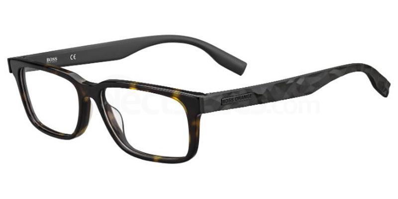 086 BO 0299 Glasses, Boss Orange